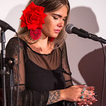 Flamenco show with Sali Gutierrez and her students at La Vita Bella Cafe on November 15, 2019.  Flamenco show with Sali Gutierrez and her students ,Steve Mullins on guitar, and Marisol Serrano and Marisa Perez, cantaora.