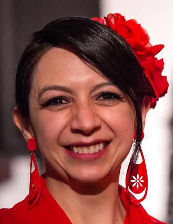 Flamenco show with Sali Gutierrez and her students at La Bella Vita Cafe on November 15, 2019.  Flamenco show with Sali Gutierrez and her students ,Steve Mullins on guitar, and Marisol Serrano and Marisa Perez, cantaora.