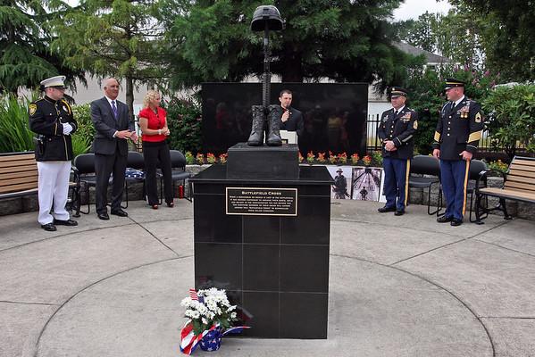 Cornelius Veteran's Memorial Park Dedication