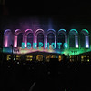 """ATLANTIC CITY, NJ - JULY 04:  A 3D light and sound show called """"Duality"""" using Boardwalk Hall as a backdrop was presentedt for 4th Of July Concert And Firework Celebration at Kennedy Plaza on July 4, 2012 in Atlantic City, New Jersey."""