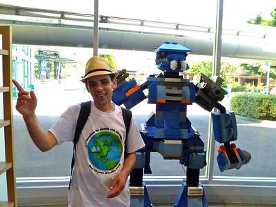 Larry in Disneyland in June 2011
