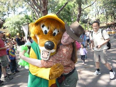 Jeannie in Disneyland in June 2011