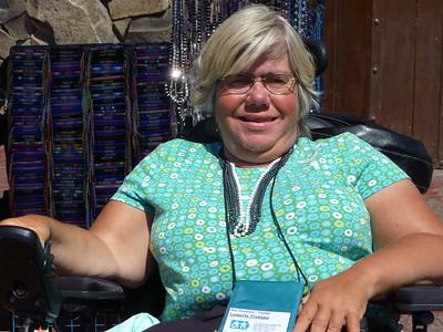 Lynette on Summer Baja Cruise in July 2011