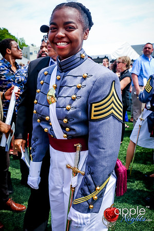 Netteange Monaus West Point Academy Graduation Ceremony