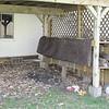 finish firewood rack