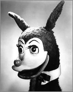 BERTIE THE BUNYIP philadelphia children's show in '50s