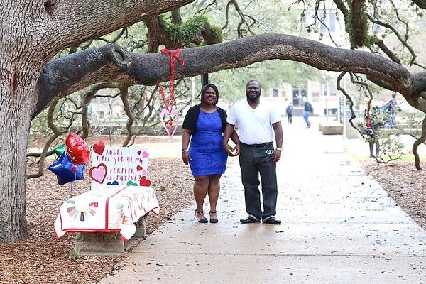 Stephanie and Carlos V-Day
