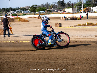 Speedway bike Practice 16 May 2020