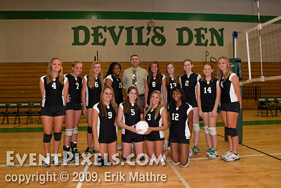 SPHS Volleyball Group Shot