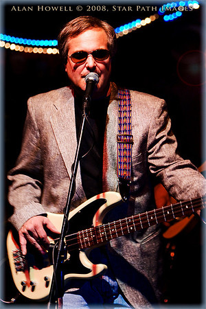 "Henry ""Hank"" Heidtmann, III., bass'n w/The Rough Band in Winston Salem, NC."