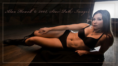 The multi-talented athlete, actress, model/spokesmodel Amy Gonzalez as photographed by Alan Howell of SPI.