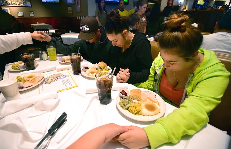 Spirit of Thanksgiving Dinner