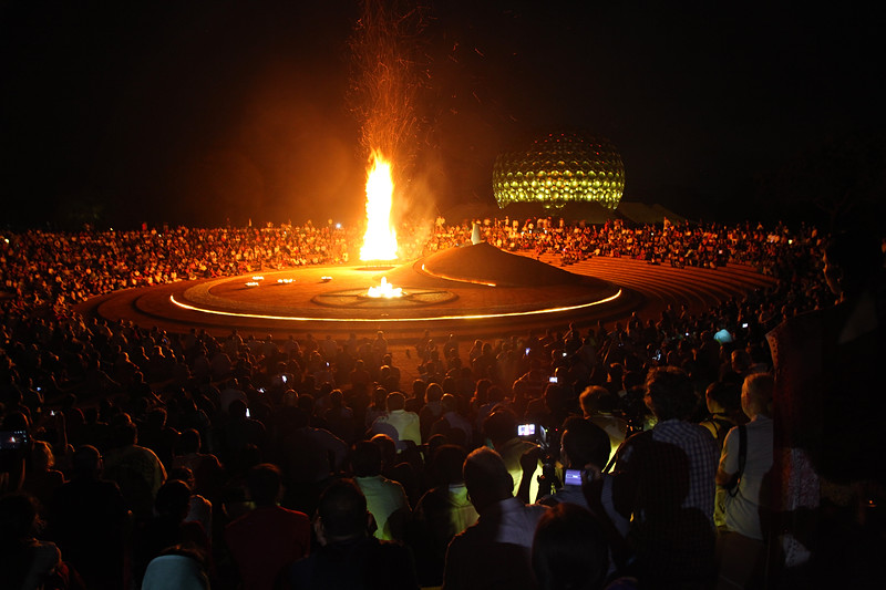 Auroville Birthday Bonfire - 28.02.16 - 1