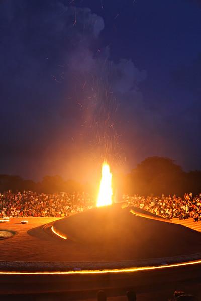 Auroville Birthday Bonfire - 28.02.16 -02 / Праздничный костер к Дню рождения Ауровиля -02