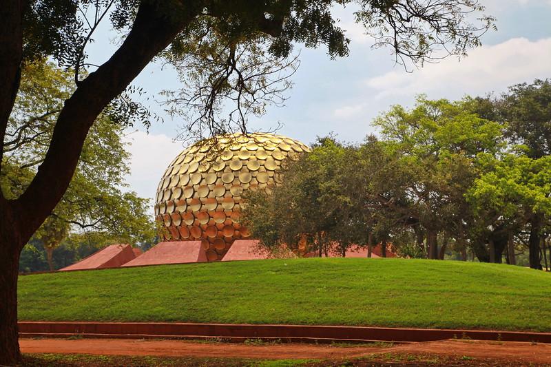 Matrimandir, Auroville / Матримандир, Ауровиль