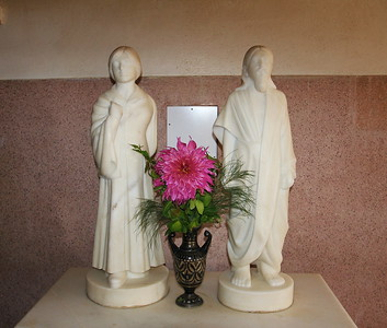 Sri Aurobindo & Mother's Sculptures