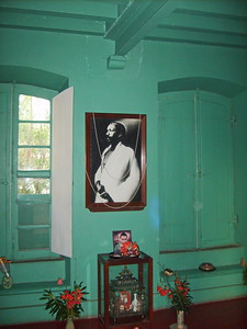 Sri Aurobindo's room / Комната Шри Ауробиндо