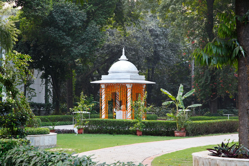 The Shrine at Sri Aurobindo Ashram, Delhi
