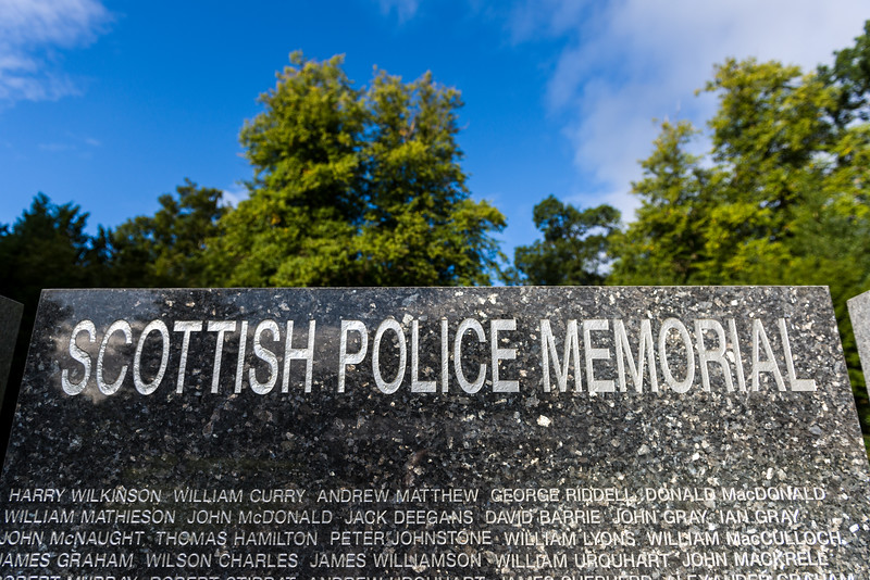 """Images from the 2017 Scottish Police memorial trust Annual Service held at The Scottish Police College on  ,6 September 2017, Picture: Al Goold ( <a href=""""http://www.algooldphoto.com"""">http://www.algooldphoto.com</a>)"""