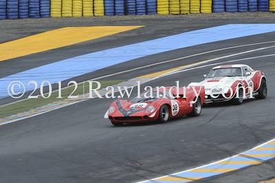 #38 LOLA T70 Mk III 1967 & #49 CHEVROLET Corvette 1969 _DSC7545