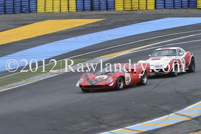 G5 #38 Thuner LOLA T70 Mk III 1967 & #49 Metzger : Piguet CHEVROLET Corvette 1969 _DSC7545