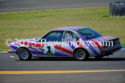 #1 BMW 635 CSI HTCC Le Groupe 1 2013 LMS_5024