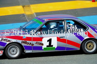 #1 BMW 635 CSI HTCC Le Groupe 1 2013 LMS_4067