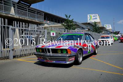 #1 BMW 635 CSI HTCC Le Groupe 1 2013 LMS_4958