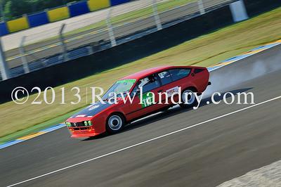 #117 ALFA ALFETTA GTV HTCC Le Groupe 1 2013 LMS_0845