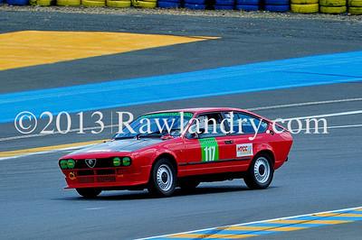 #117 ALFA ALFETTA GTV HTCC Le Groupe 1 2013 LMS_8604