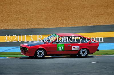 #117 ALFA ALFETTA GTV HTCC Le Groupe 1 2013 LMS_8372