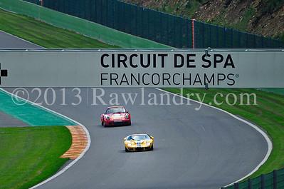 #21 FORD GT40 1966 #25 PORSCHE 911 RSR 3 0l 1974 SPA_7520