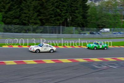#121 PORSCHE 911 ST 2 3l 1970 & #97 PORSCHE 911 RS 3,0l 1974 SPA_8804