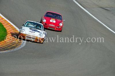 #133 PORSCHE 911 RS 3 0 L 1974 & #4 PORSCHE 911 RS 2 7L 1972 SPA_6125