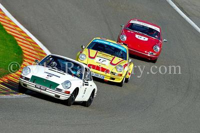 #6 PORSCHE 911 1965 & #17 PORSCHE 911 ST 2 5l 1972 & #91 PORSCHE 911 1965 SPA_6138