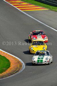 #43 PORSCHE 911 1965 & #7 PORSCHE 911 RSR 2,8l 1973 & #66 PORSCHE 911 RSR 3 0l 1974 SPA_6070