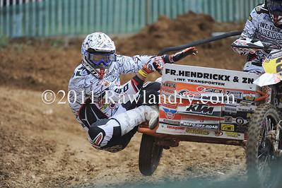 2011 Sidecarcross World Championship Brou France ©Rawlandry