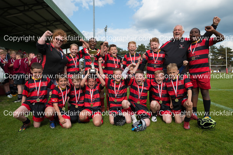 "Wigan and Leigh Champion Schools Primary Finals 2016, Ince CE v Sacred Heart, Edge Hall Road, Orrell, Tuesday 24th May 2016:  Sacred Heart.  Picture by  <a href=""http://www.nickfairhurstphotographer.com"">http://www.nickfairhurstphotographer.com</a>"