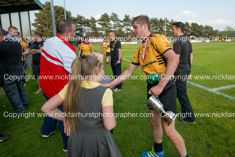 """Year 10 Wigan and Leigh Champion Schools Final 2016, St Peter's v St John Fisher, Edge Hall Road, Orrell, Friday 27th May 2016:  St Peter's.  Picture by  <a href=""""http://www.nickfairhurstphotographer.com"""">http://www.nickfairhurstphotographer.com</a>"""
