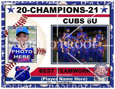 CUBS 4-6U-GROUP PHOTO-CHAMPIONS