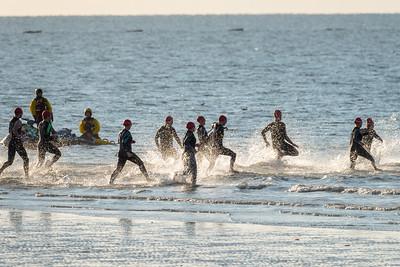 Olympic Swim Wave – Male/Female Over 40 (Red swim hat)