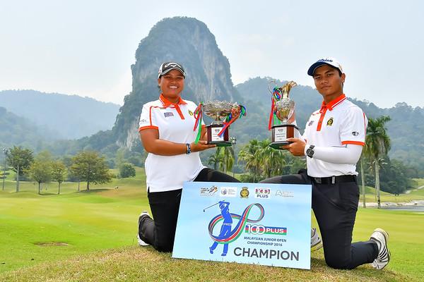 100Plus Malaysian Junior Open 2016