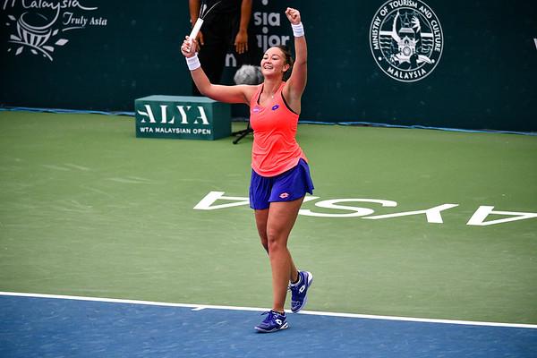 ALYA WTA Malaysian Open 2017   Sabina Sharipova (UZB) vs Lesley Kerkhove (NED)