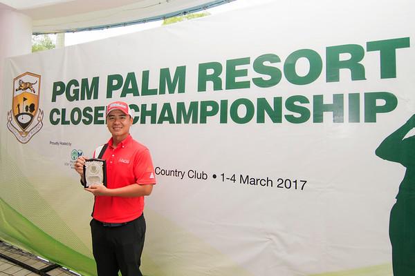 PGM PALM RESORT CLOSED CHAMPIONSHIP 2017