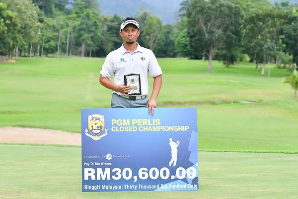 PGM PERLIS CLOSED CHAMPIONSHIP 2016