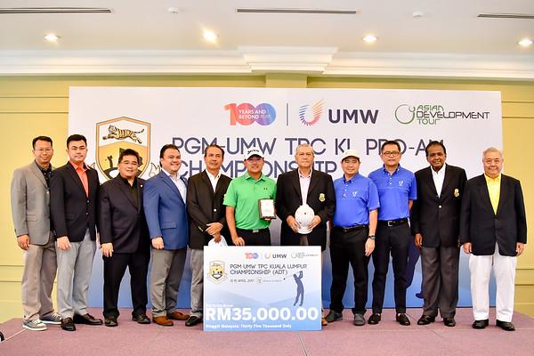 PGM UMW CHAMPIONSHIP 2017
