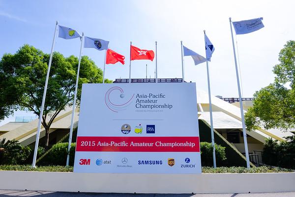 ASIA-PACIFIC AMATEUR CHAMPIONSHIP 2015  HONG KONG