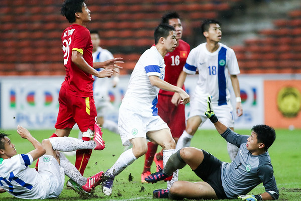 Vietnam vs Macau - AFC U23 Championship Qualifier