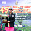 45th Selangor Amateur Open 2018 | FINAL ROUND
