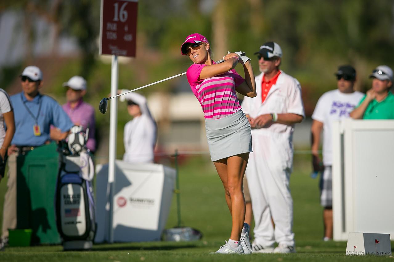 Natalie Gulbis – Kraft Nabisco Championship 2014  – Rancho Mirage, CA
